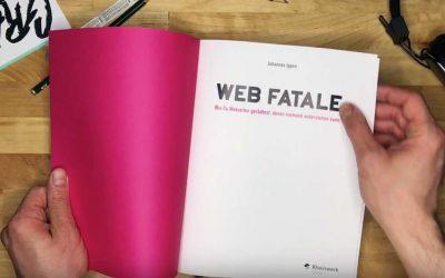 Der Designer Johannes Ippen erklärt in Web Fatale (2016) mögliche Wege, wie man Nutzer und potentielle Kunden mit eigenen Internetpräsenzen überzeugt.